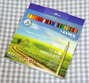 LYRA / リラ GRADUATE 色鉛筆 24色セット