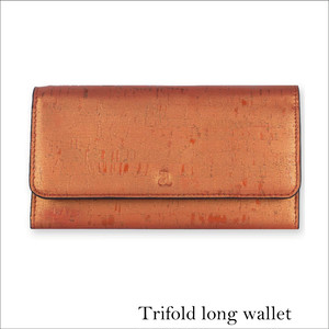 VEGAN TRIFOLD WALLET  SUNSET / 三つ折り長財布 SUNSET コルク製