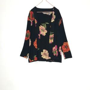◼︎90s flower pattern jacket from U.S.A.◼︎