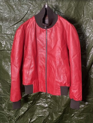 AW2000 PRADA LEATHER JACKET