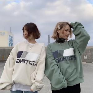 【即納】韓国ファッション EVERYTHINGトレーナー