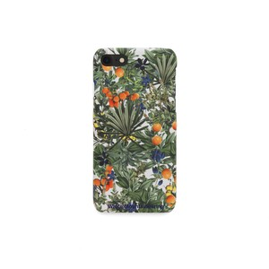 iPhone7 case【TROPICAL PATTERN】- WHITE