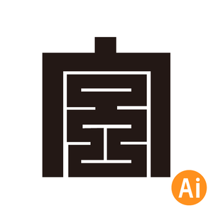 宮本町のだんじり町紋aiデータ①