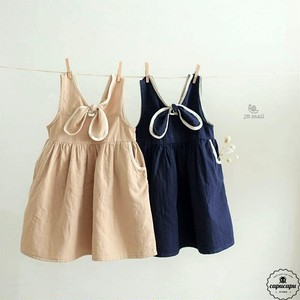 «sold out» vest one piece リボンベストワンピース