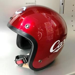 CARP カープ ジェットヘルメット レッド カープ公認