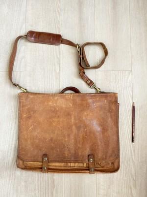 used leather bag No.009「限界ラグーン」