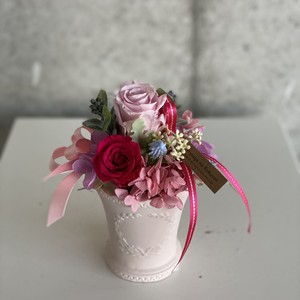 Preserved flowers -pink-