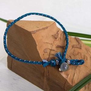 men's anklet ■sugi  (marine blue)