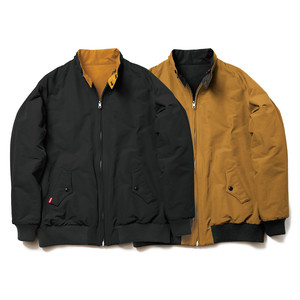 EVISEN E9 REVERSIBLE JKT BLACK x MUSTURD SWING TOP エビセン スウィングトップ