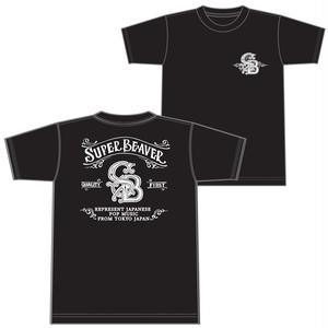 アメリカンビーバーTシャツ【ブラック】