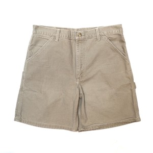 Carhartt duck shorts beige W34