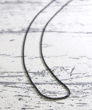 EGV1811BSD15【ego na ghai/エゴナハイ】stainless necklacce  square parts chain /ステンレスネックレス四角パーツチェーン