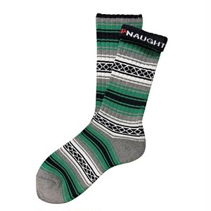 """FALSA -green-"" Socks (limited edition by NAUGHTY)"