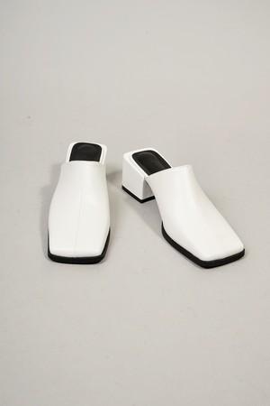 SQUARE SANDALS (WHITE) 2102-03-41