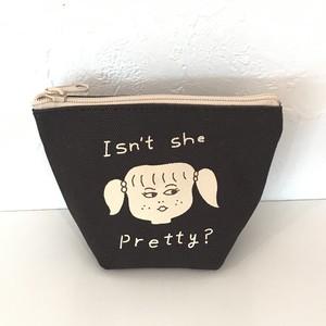 Ooh la la ! ボートポーチ MINI / pretty girl