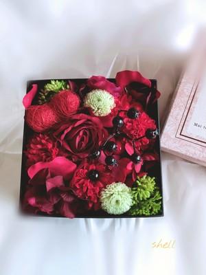 Flower Box・ヴィヴィッドレッド