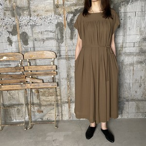 Dessin de Mode【デッサン ド モード】バスクワンピース   11DOP-054-5490 (SIENNA BROWN SIZE:1)