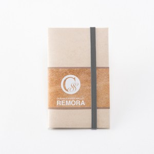 """Durable Paper Wallet """"REMORA"""" / Ivory&Gray"""
