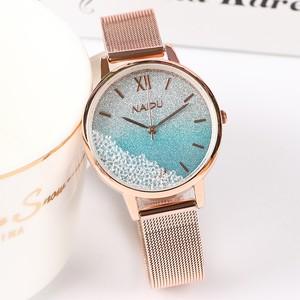 人気爆発中 ラインストーン シンプル グラデーション 気質満点 レディース 腕時計 <ins-2060>