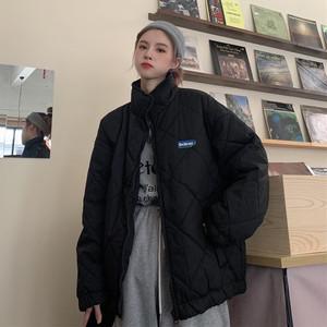 シンプルワンポイントジッパージャケット