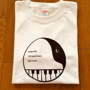 【L ホワイト】15周年記念 best scenes Tシャツ