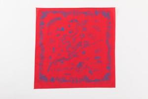 ITOSHIMA MAP BANDANNA (RED)