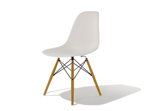 Eames Shell Side Chair DSW Maple Legs - チャールズ&レイ イームズ