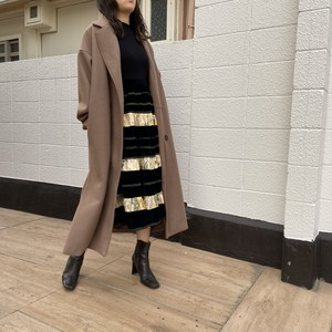 velours Tiered skirt ベロア ティアード スカート