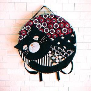 まんまる黒猫リュック