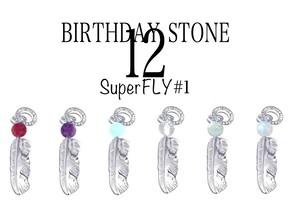 SuperFLY#1(BIRTHDAY STONE) ペンダント ★期間限定受注製作品 ~6月10日(日)まで