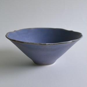 輪花小鉢B(青紫) / 杉原万理江