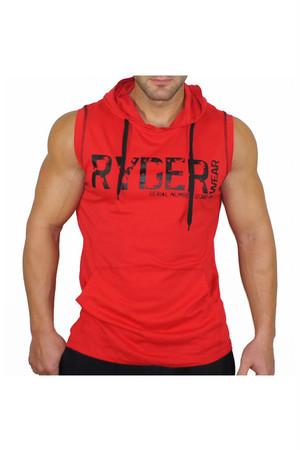 パーカータンク - レッド (RYDER WEAR)