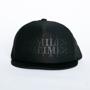 HUNGERKNOCK × 100miles100times Cap(Black/Black)