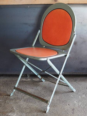 Industrial color folding chair