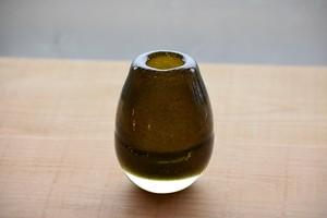 茶泡厚底花器