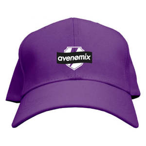 avenomix / BOX-LOGO CAP PURPLE
