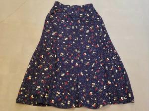 Flower pattern skirt [O-87]