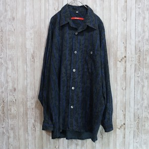 ユーロ 総柄コットンシャツ [C208]
