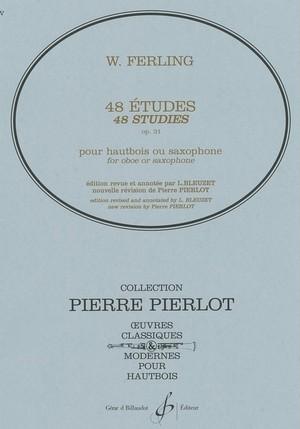フェリング:48の練習曲 / サクソフォーンorオーボエ