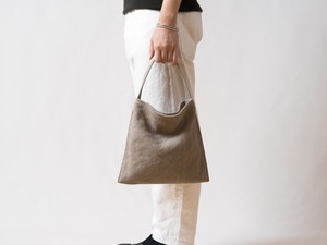 [New]Mini Holiday bag タンベージュ