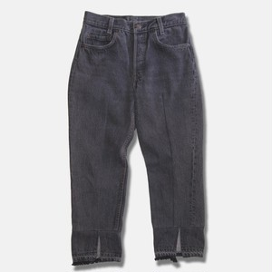 WCH Remake Black 501's Tapered Jeans -A