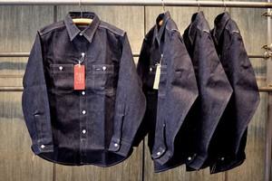 BONCURA(ボンクラ)デニムワークシャツ