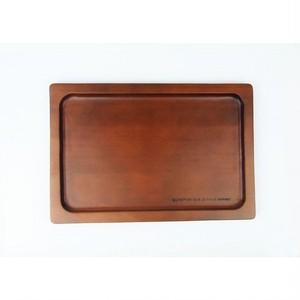 木製カフェトレイ [ブラウン]・アンカフェシリーズ