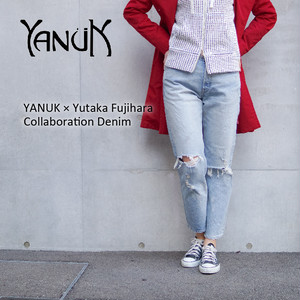 YANUK/ヤヌーク 藤原 裕コラボレーションデニム クラッシュヴィンテージ/80's Crash Vintage Jeans 57191502 ★日本製/MADE IN JAPAN★