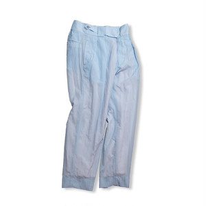 Cropped slacks  [ Pale Blue ]