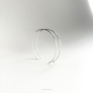 EDGE BRACELET - silver -