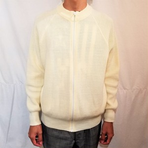 Knit blouson /Made In DDR [G-435]