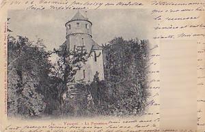 古絵葉書エンタイア「Henri Manchon」(1906年)