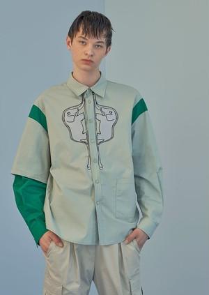 【即日発送可能】19030106001.0006 Twinsエレファントシャツ