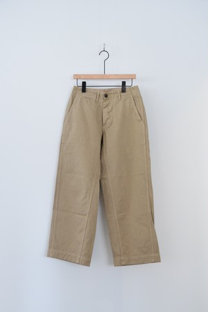 【ordinary fits】NEW PARK TROUSER BEG/OM-P102
